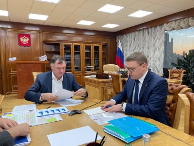 Губернатора области встретился с зампредседателя Правительства РФ