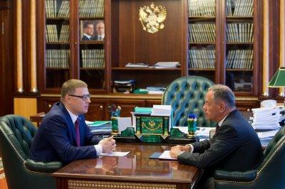 Алексей Текслер и Александр Браверман приняли участие в стратегической сессии по вопросам развития малого бизнеса