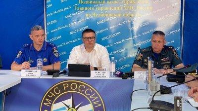 Алексей Текслер провел в поселке Новокаолиновом заседание оперативного штаба