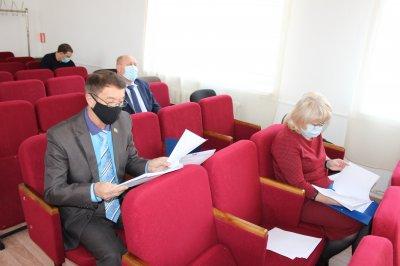 Прошло заседание районного Собрания
