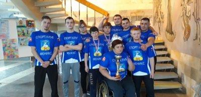 Команда по армрестлингу – бронзовый призер Чемпионата