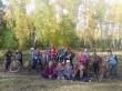 Велопоход по осеннему лесу