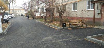 В Хомутинино преобразились дворы квартала «Медгородок»