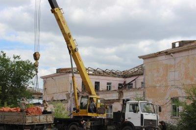 Начался капитальный ремонт здания для Детской школы искусств