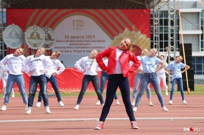 Увельчане – в призерах областного фестиваля ГТО