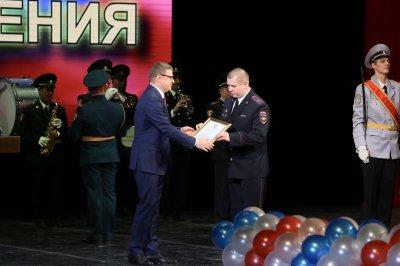 Алексей Текслер: День сотрудника органов внутренних дел объединяет тысячи людей, которые защищают права и покой граждан