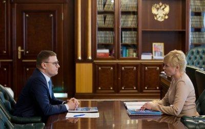 Губернатор встретился с уполномоченным по правам человека