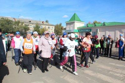 Фестиваль «Старшее поколение» по скандинавской ходьбе
