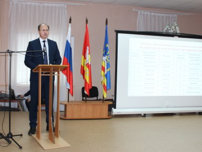 Глава района отчитался о работе администрации в 2019 году