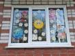 Акция «Аппликация на окне «Наше счастливое детство»