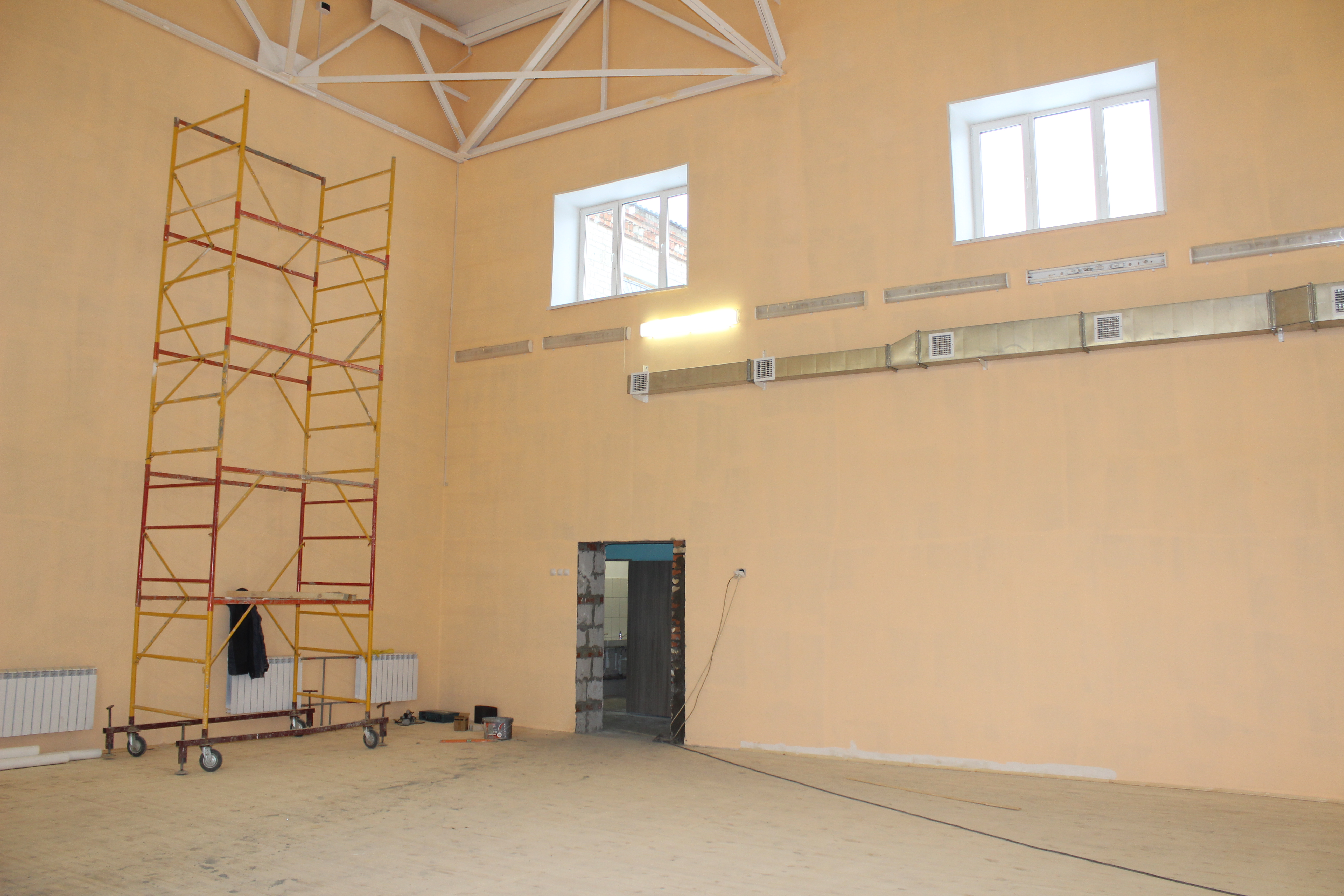 Долгожданный спортивный объект построен в п. Нагорном!