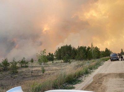 По данным ГУ лесами Челябинской области, населенным пунктам Карталинского района огонь не угрожает.