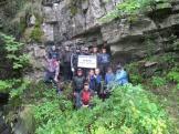 У входа в Киселёвскую пещеру