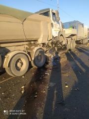 ДТП с погибшим на 1591 км автодороги Москва-Челябинск