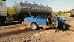 В Ашинском районе произошло ДТП на 1586 км автодороги М-5