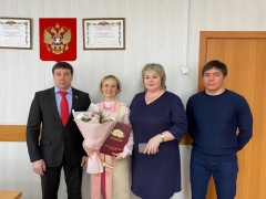 награждение Благодарственным письмом Законодательного собрания Челябинской
