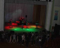 Рок-концерт.