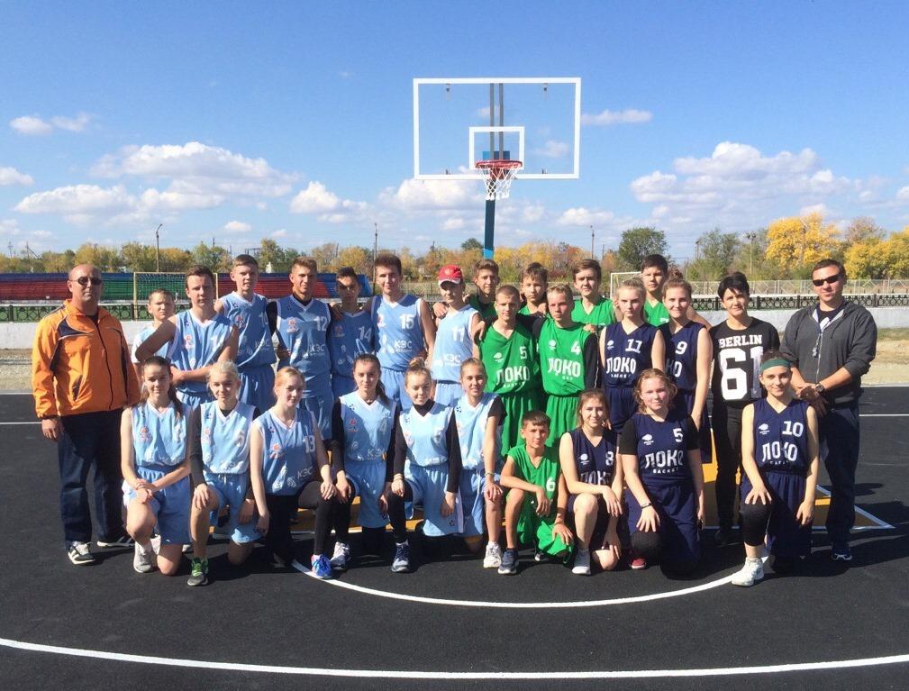 14 сентября на стадионе «Локомотив» в рамках первенства по легкой атлетике прошла церемония открытия баскетбольной, 2-х волейбольных площадок и площадки для приема нормативов ГТО
