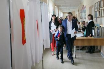 Алексей Текслер принял участие в Едином дне голосования