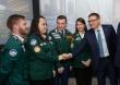 Николай Цуканов и Алексей Текслер встретились с представителями студенческих отрядов Челябинской области