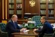 Николай Цуканов и Алексей Текслер обсудили реализацию нацпроектов и готовность региона к зимнему периоду