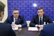 Андрей Турчак, Алексей Текслер и Владимир Мякуш провели прием граждан