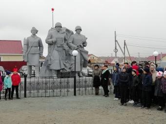 Перенос памятника воинам-землякам в с.Муслюмово