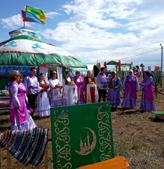 Кунашакский район достойно проявил себя на областном сабантуе в Троицке