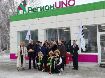 В Кунашаке открылась новая современная заправочная станция