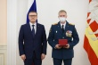 Алексей Текслер вручил награды сотрудникам МЧС