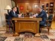 Алексей Текслер доложил о реализации национальных проектов вице-премьеру Виталию Мутко