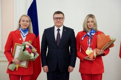 Алексей Текслер наградил призеров и участников XVI летних Паралимпийских игр