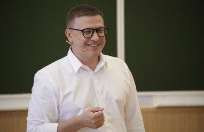 Алексей Текслер в День знаний встретился со студентами-первокурсниками