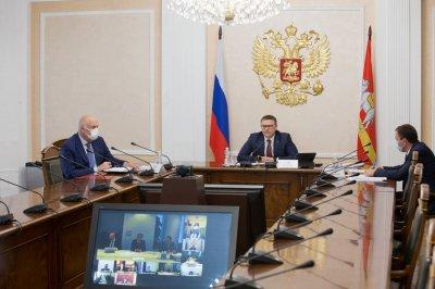 Алексей Текслер обсудил вопросы сотрудничества с руководством АО «ДОМ.РФ»