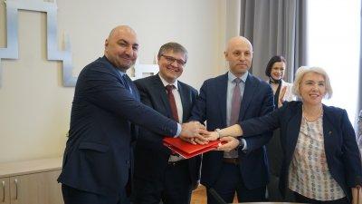 На Южном Урале подписано четырехстороннее Соглашение по развитию студенческого спорта