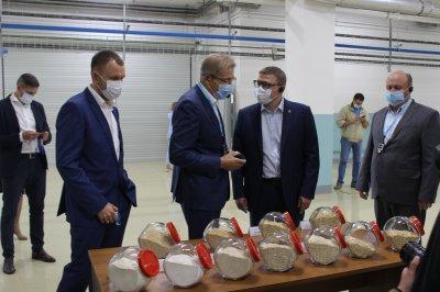 Губернатор принял участие в открытии производственно-логистического комплекса ООО «Ресурс»