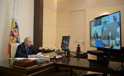 Владимир Путин в режиме видеоконференции провёл совещание по экономическим вопросам