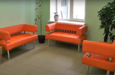 Новая мебель в детской поликлинике