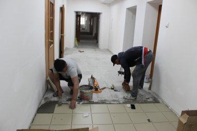 В Увельском районе ремонтируют несколько зданий медучреждений