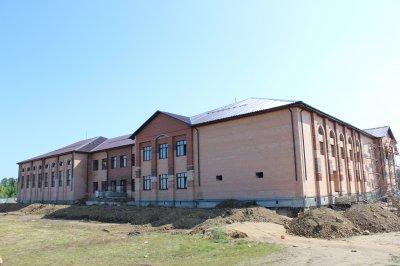 В селе Кичигино полным ходом идет строительство нового учреждения культуры