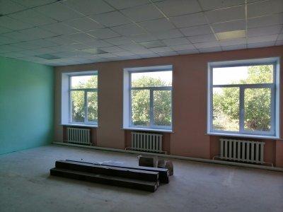 Идет обновление школы в селе Мордвиновка