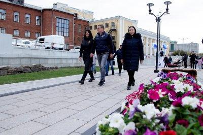 В Челябинске открылась новая набережная