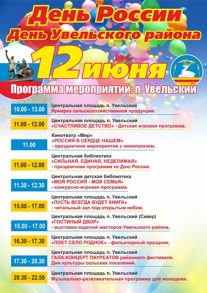 День города сценарий для детской программы