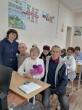 В Кунашакской средней школе сегодня писали татарский диктант.