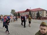Кунашак 9 мая 1945 день победы Аминов <br /> Сибагатулла Нуруллович шевствие Парад победы